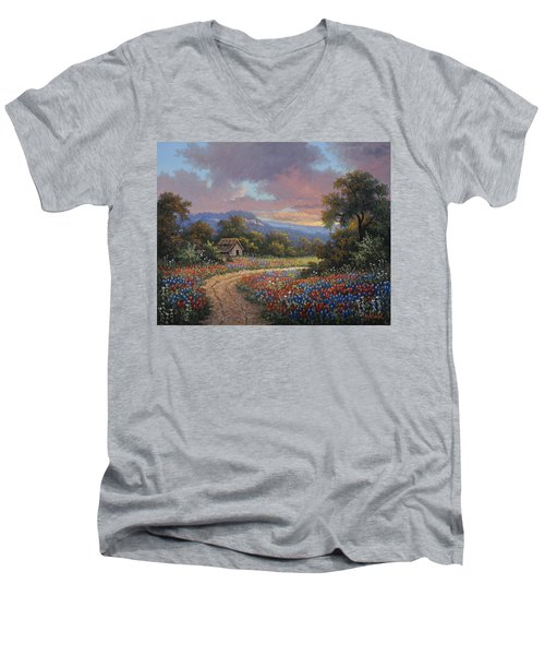 Evening Medley Men's V-Neck T-Shirt