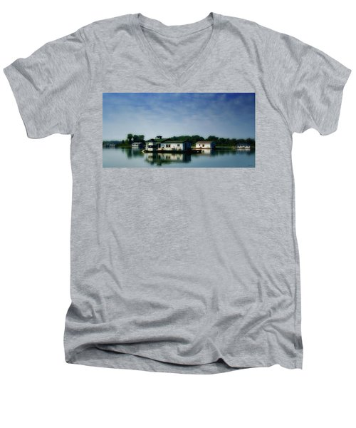 Horseshoe Pond Men's V-Neck T-Shirt