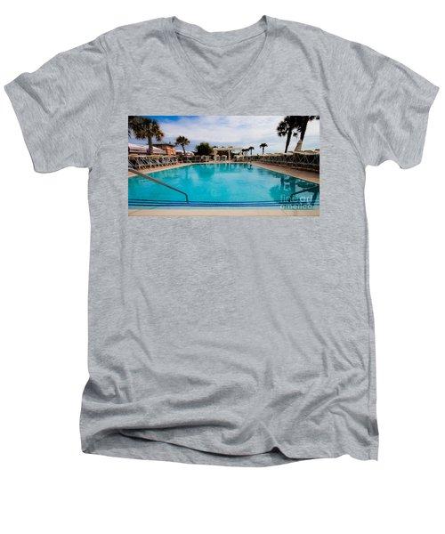 Infinity Pool Men's V-Neck T-Shirt