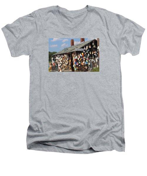 Lobsta House Men's V-Neck T-Shirt