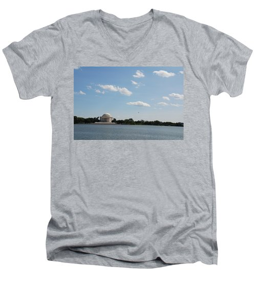Memorial By The Water Men's V-Neck T-Shirt