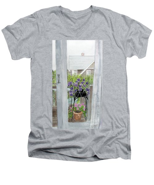 Nantucket Room View Men's V-Neck T-Shirt