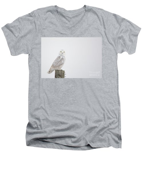 Observant Men's V-Neck T-Shirt