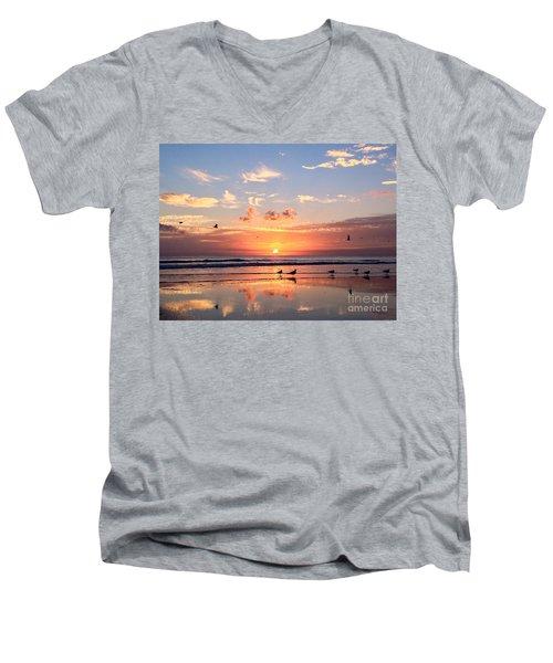 Painted Sky Men's V-Neck T-Shirt