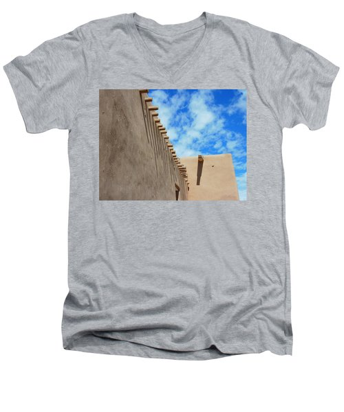 San Francisco De Asis Mission Church  Men's V-Neck T-Shirt