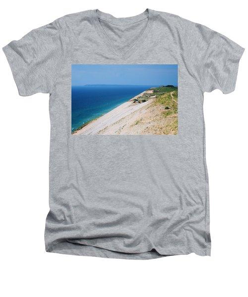 Sleeping Bear Dunes Men's V-Neck T-Shirt