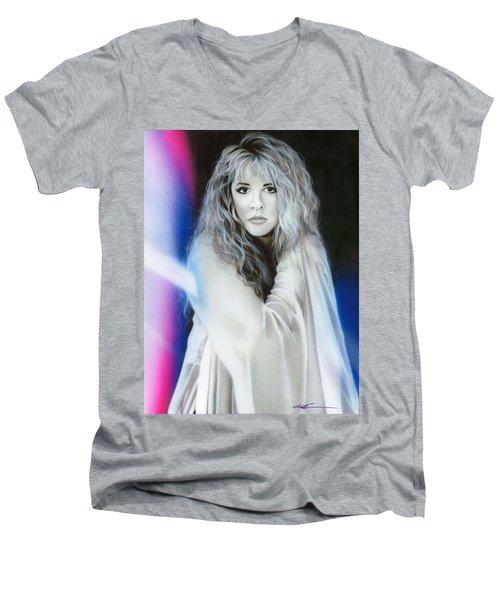 Stevie Nicks Men's V-Neck T-Shirt