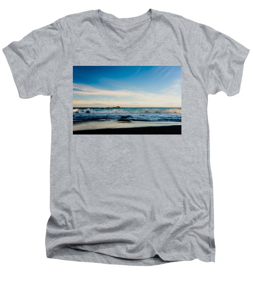 Sunlight On Beach Men's V-Neck T-Shirt