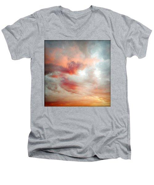 Sunset Sky Men's V-Neck T-Shirt