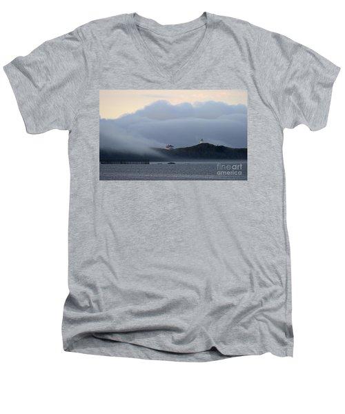 Swallowtail Lighthouse... Men's V-Neck T-Shirt