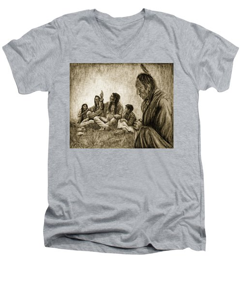 Tales Passed On Men's V-Neck T-Shirt