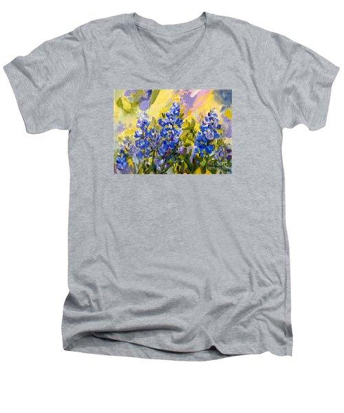 Texas Our Texas Men's V-Neck T-Shirt