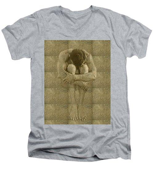 The Artist Men's V-Neck T-Shirt