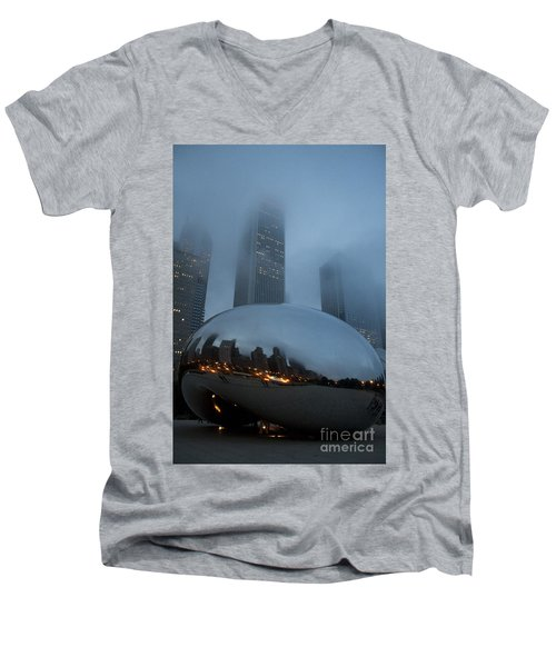 The Bean And Fog Men's V-Neck T-Shirt