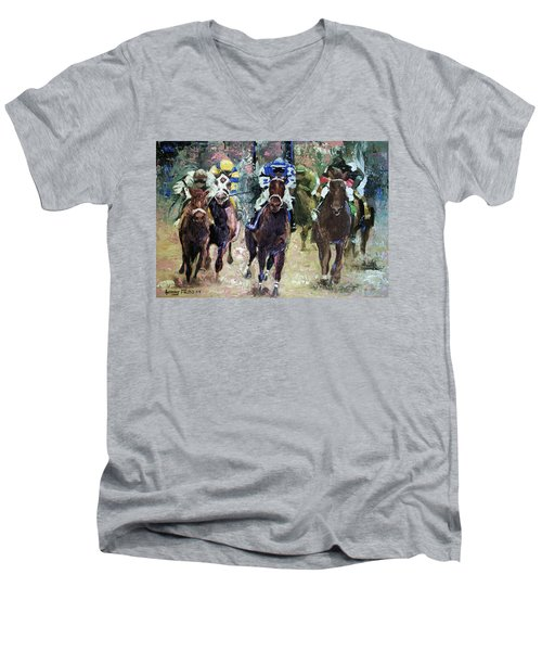 The Bets Are On Men's V-Neck T-Shirt