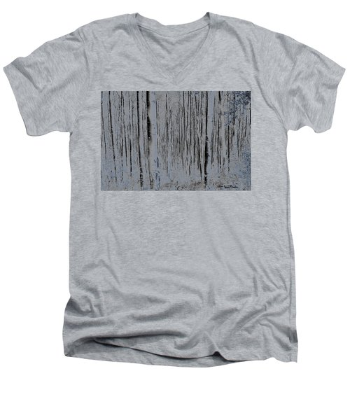 Tree People Men's V-Neck T-Shirt
