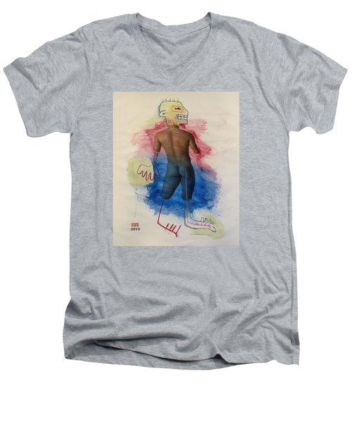 2546 Men's V-Neck T-Shirt