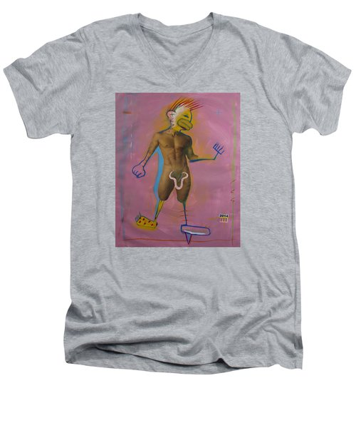 2552 Men's V-Neck T-Shirt