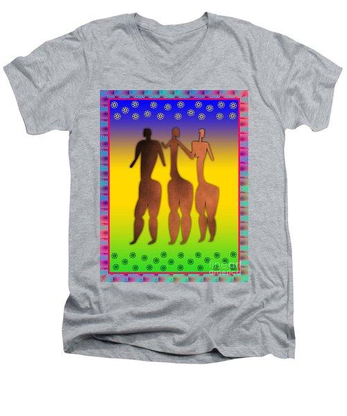3 Sisters Men's V-Neck T-Shirt