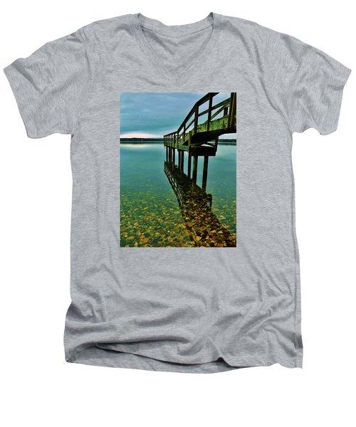 3 Mile Harbor Men's V-Neck T-Shirt