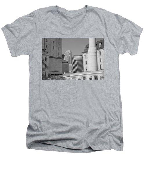 Minneapolis Men's V-Neck T-Shirt