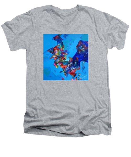 Power Sold Out Men's V-Neck T-Shirt