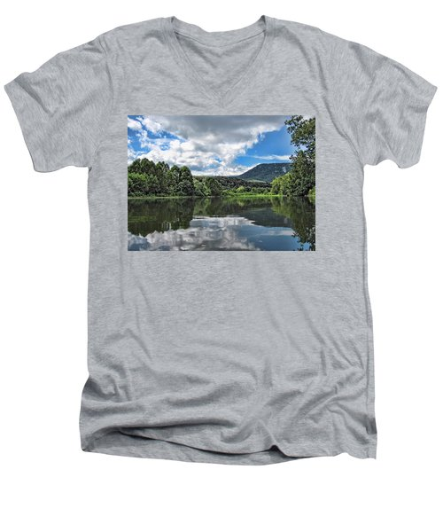 South Fork Shenandoah River Men's V-Neck T-Shirt