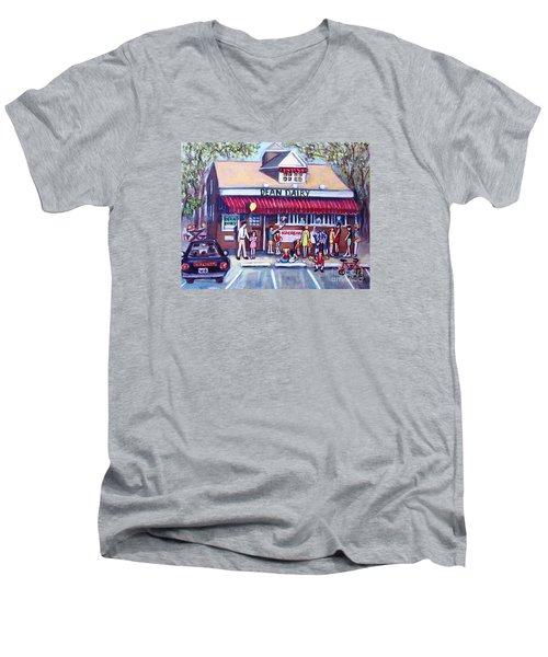 We All Scream For Ice Cream Men's V-Neck T-Shirt
