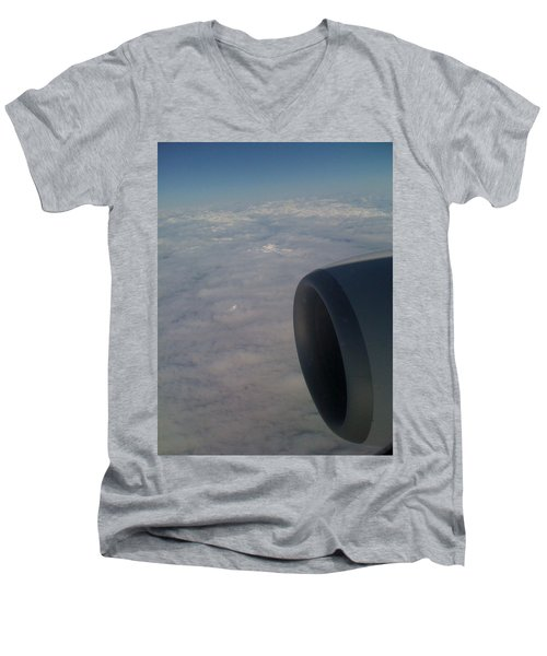 33000 Feet Men's V-Neck T-Shirt