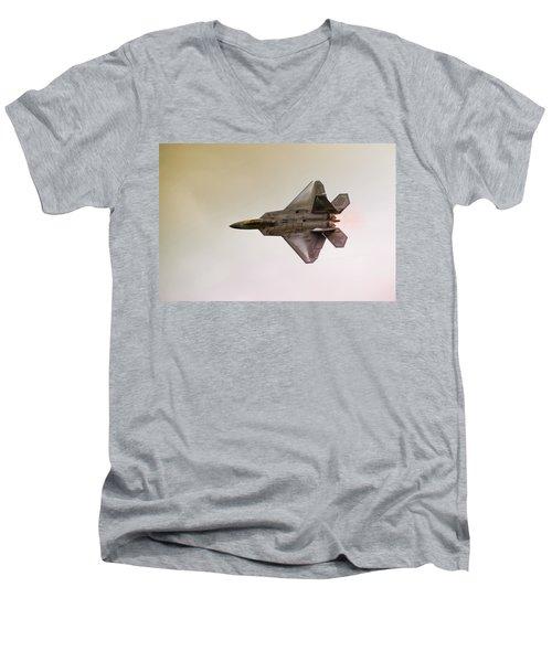 F-22 Raptor Men's V-Neck T-Shirt