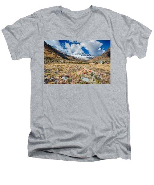Paso Punta Union  Men's V-Neck T-Shirt