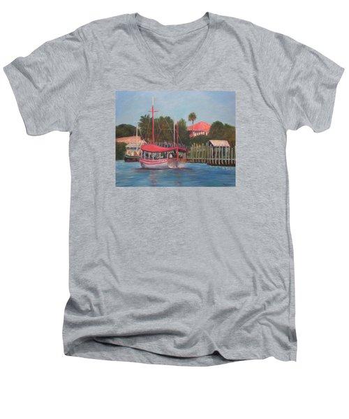Tarpon Springs Florida Men's V-Neck T-Shirt