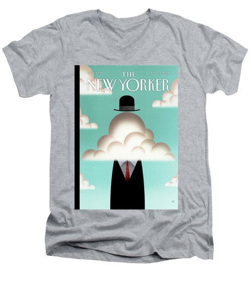 New Yorker May 14th, 2012 Men's V-Neck T-Shirt
