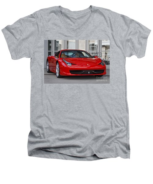 458 Italia Men's V-Neck T-Shirt