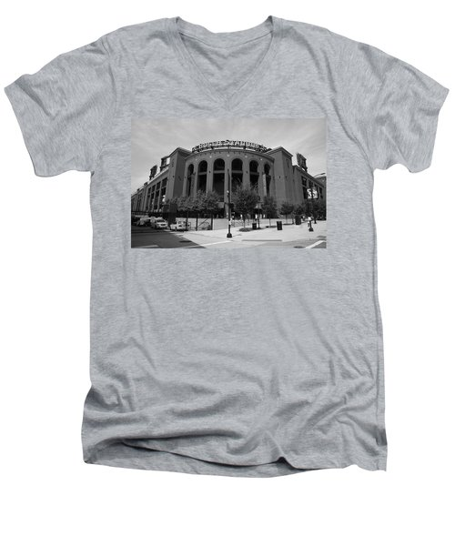 Busch Stadium - St. Louis Cardinals Men's V-Neck T-Shirt