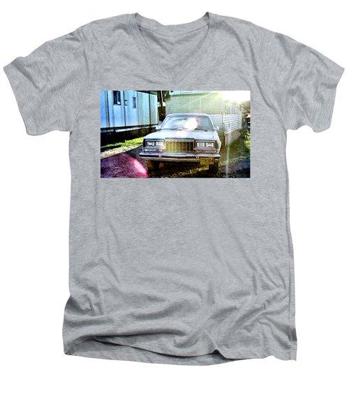 Let's Rock Men's V-Neck T-Shirt