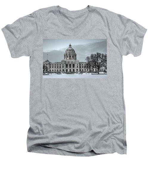 Minnesota State Capitol St Paul Men's V-Neck T-Shirt