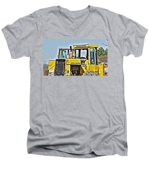 644e - Automotive Recycling Men's V-Neck T-Shirt