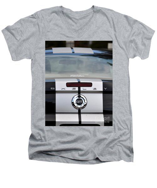 Dad's Ride Men's V-Neck T-Shirt