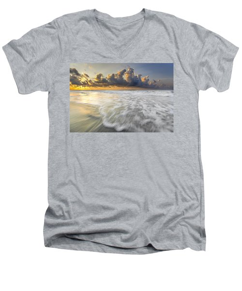 Sunrise On Hilton Head Island Men's V-Neck T-Shirt