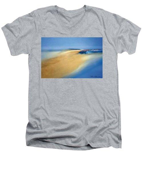 A 5 Men's V-Neck T-Shirt