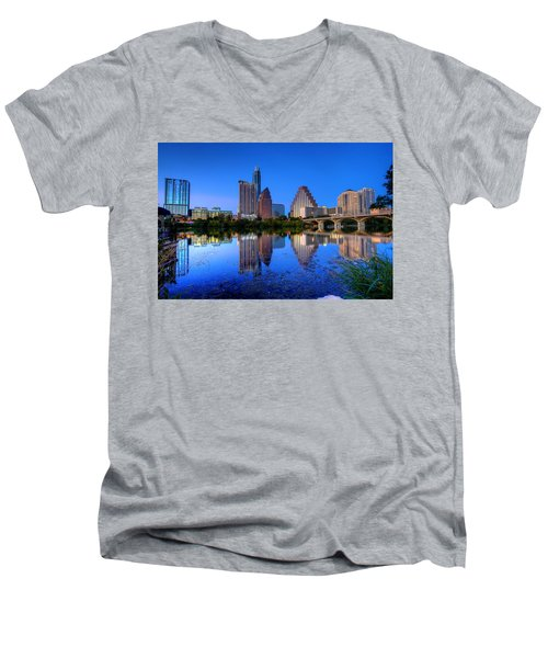 A Beautiful Austin Evening Men's V-Neck T-Shirt