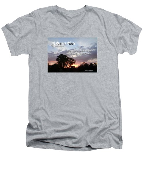 A Better Place Men's V-Neck T-Shirt