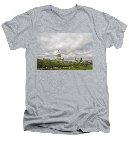 A Bonsecours Day  Men's V-Neck T-Shirt