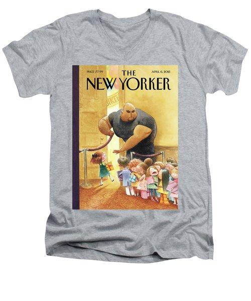 Everybody Who's Anybody Men's V-Neck T-Shirt