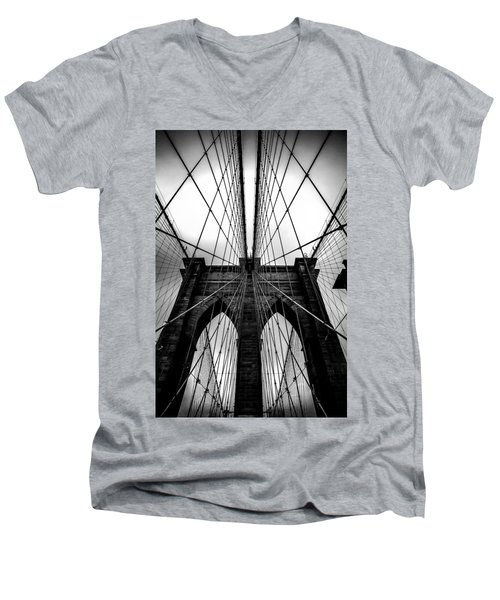 A Brooklyn Perspective Men's V-Neck T-Shirt
