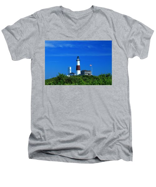 A Clear Day Men's V-Neck T-Shirt
