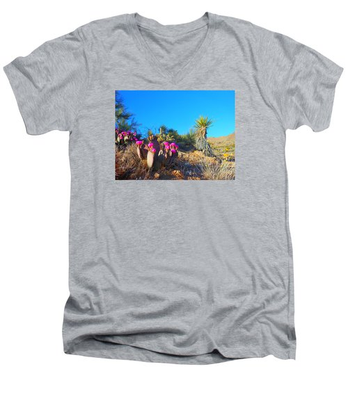 A Dangerous Yet Beautiful Land Men's V-Neck T-Shirt