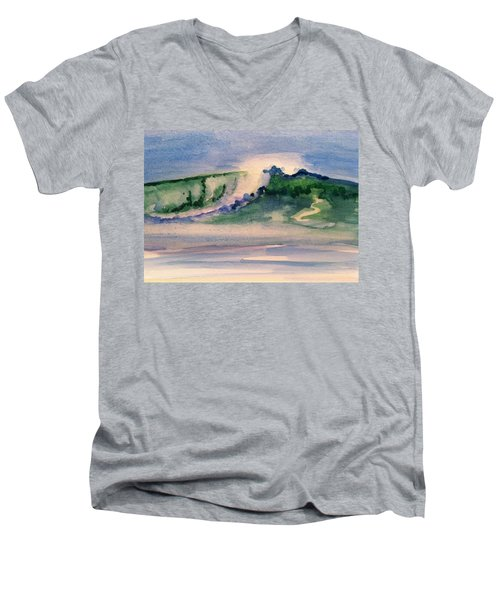 A Day At The Beach 3 Men's V-Neck T-Shirt