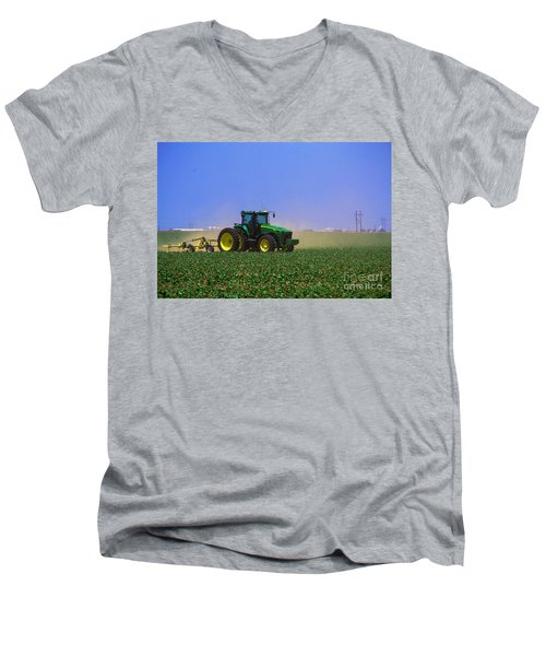 A Day On The Farm Men's V-Neck T-Shirt